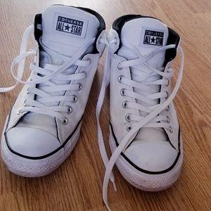 Unisex White Converse Shoes
